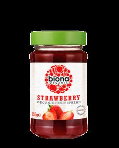 [Biona] 有機草莓果醬 (無糖添加) (250g/罐)
