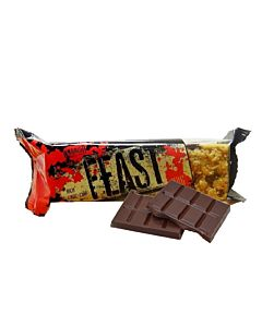 [英國 KBF] Warrior FEAST燕麥蛋白棒-巧克力脆片(100g/條)