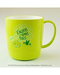 [Gaspard et Lisa 麗莎和卡斯柏] 可疊馬克杯-檸檬綠