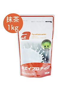 [福利品][日本 Alpron] 濃縮乳清蛋白-抹茶(1kg/袋)