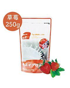 [福利品][日本 Alpron] 濃縮乳清蛋白-草莓(250g/袋)