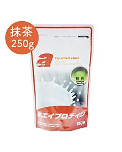 [福利品][日本 Alpron] 濃縮乳清蛋白-抹茶(250g/袋)