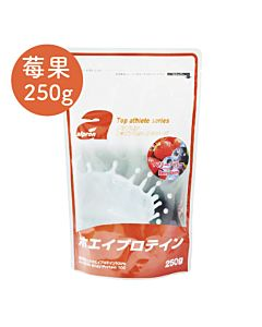 [福利品][日本 Alpron] 濃縮乳清蛋白-繽紛莓果(250g/袋)