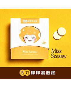 [MissSeesaw] 活力嗶嗶發泡錠 (30錠)