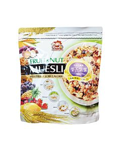 [大頭叔叔]栗香紫薯穀物水果麥片 (300g/包)