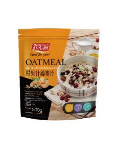 [紅布朗]堅果什錦麥片(500g/袋)