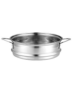 [大家源] 304不鏽鋼美食鍋蒸籠 (1.5L 美食鍋適⽤) TCY-2743A