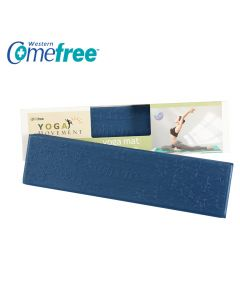 [Comefree] 羽量級TPE摺疊瑜珈墊(深海藍)