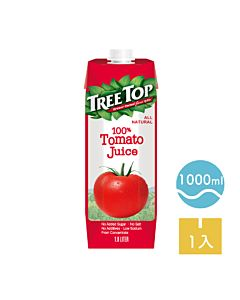 [TreeTop樹頂]  100%純蕃茄汁 (1L/罐)