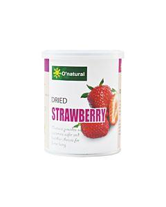 [歐納丘] 不切片!!! 純天然草莓乾 (150g/罐)