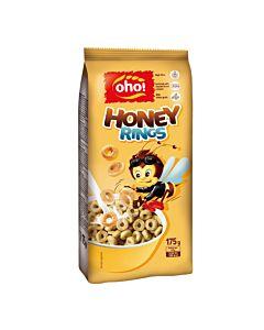 [立陶宛oho!] 全穀蜂蜜早餐圈(175g/袋)