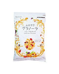 [日本 Nisshoku] 奢華水果堅果穀片 (240g/袋)