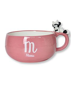 [Disney] 米妮趴睡陶瓷湯杯 (390ml)