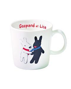 [Gaspard et Lisa 麗莎和卡斯柏] 馬克杯 (相識/250ml/日本製)