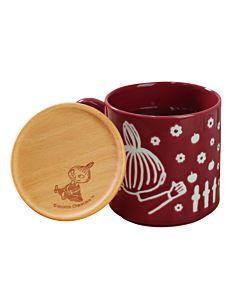 [Moomin嚕嚕米] 小不點馬克杯 300ml (附木製杯蓋)