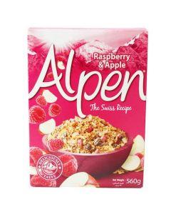 [Alpen歐寶] 英國皇家營養麥片- 覆盆子蘋果 (560g/盒)
