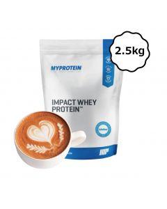 [英國 Myprotein] 濃縮乳清蛋白-拿鐵 (2.5kg/包)