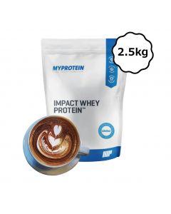 [英國 Myprotein] 濃縮乳清蛋白-摩卡 (2.5kg/包)