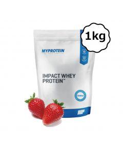 [英國 Myprotein] 濃縮乳清蛋白-天然草莓 (1kg/包)