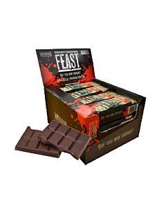 [英國 KBF] Warrior FEAST燕麥蛋白棒-巧克力脆片(12入/盒)