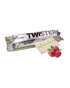 [波蘭 Olimp] Twister 牛奶蛋白棒-白巧克力莓果 (60g/條)