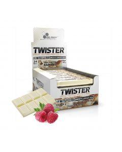 [波蘭 Olimp] Twister 牛奶蛋白棒-白巧克力莓果 (24條/盒)