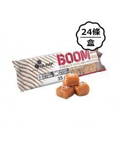 [波蘭 Olimp] BOOM 牛奶蛋白棒-焦糖 (24條/盒)