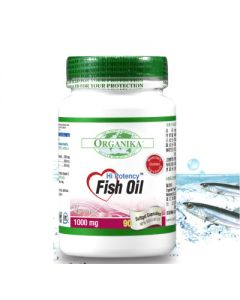 [Organika優格康] 高單位魚油1000mg (90顆/瓶)