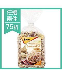 [德國Jason傑森] 六種穀物麥片 (500g/包)
