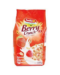 [瑞士全家] 蜂蜜草莓綜合穀物早餐麥片 (500g/包)