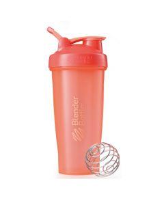 [Blender Bottle] Classic搖搖杯(840ml/28oz)-珊瑚橘