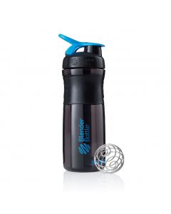[Blender Bottle] SportMixer Grip(830ml/28oz)-黑晴藍
