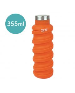 [QUE BOTTLE] 伸縮水瓶(355ml) -活力橘