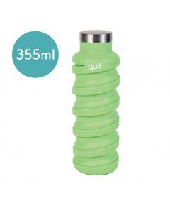 [QUE BOTTLE] 伸縮水瓶(355ml) -螢光綠