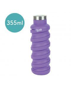 [QUE BOTTLE] 伸縮水瓶(355ml) -薰衣紫