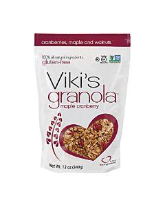 [Viki's Granola] 無麩質楓糖蔓越莓穀諾拉 (340g/包)