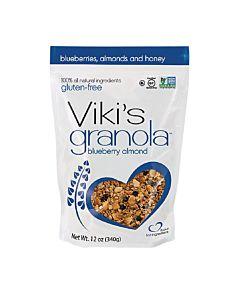 [Viki's Granola] 無麩質藍莓杏仁穀諾拉 (340g/包)