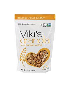 [Viki's Granola] 無麩質香蕉核桃穀諾拉 (340g/包)