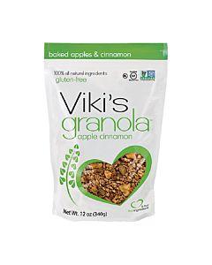 [Viki's Granola] 無麩質蘋果肉桂穀諾拉 (340g/包)