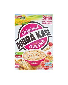 [捷克 Bonavita] 覆盆莓燕麥粥(260g/4包/盒)