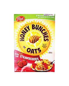 [美國Post] 草莓蜂蜜穀物脆片 (368g/盒)