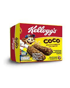 [家樂氏] 可可米穀物隨手棒-巧克力風味外層 (23g*6條/盒)