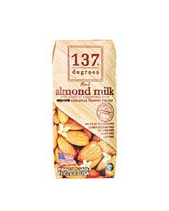 [137 degrees] 原味杏仁堅果奶 (180ml/罐)
