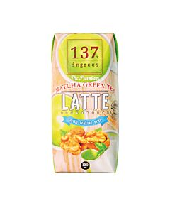 [137 degrees] 抹茶核桃堅果奶 (180ml/罐)