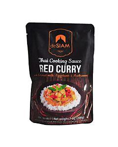 [deSIAM] 泰式紅咖哩調理醬包 (200g/包)