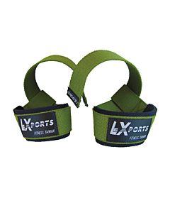 [LEXPORTS]專業級重訓健身高拉力帶-綠色