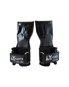 [Lexports] 重訓健身拉力帶 Power Gripps Pro(男)-黑色