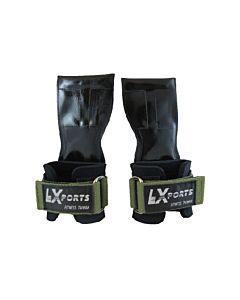 [Lexports] 重訓健身拉力帶 Power Gripps Pro(男)-綠色