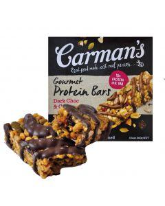 [澳洲 Carman's] 黑巧克力蔓越莓蛋白質棒(5條/盒)