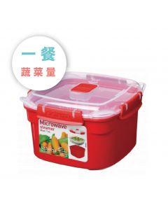 [紐西蘭 Sistema] 微波蒸煮保鮮盒(1.4L)
